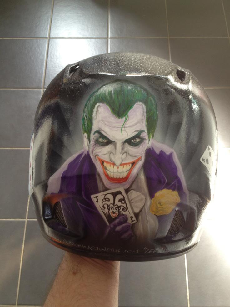 Custom Artwerk'd MTB helmet