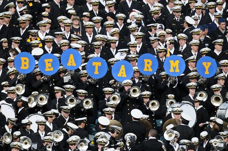 Navy - United States Naval Academy Midshipmen - band and midshipmen - BEAT ARMY