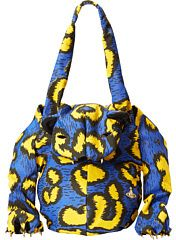 Vivienne Westwood Tiger Bag with Paws in Leopard Print Tote Handbags