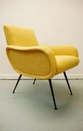 1950s Italian armchair, Osi Modern, midcentury, retro