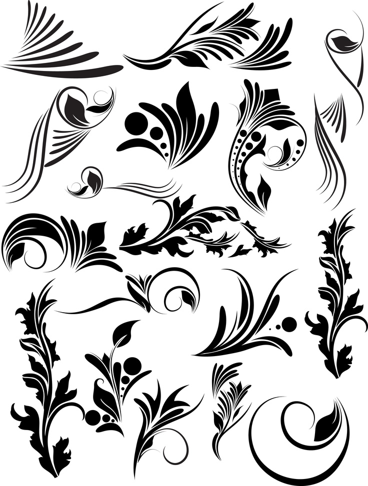 victorian vector clip art