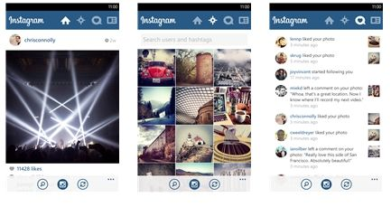 Introducing Instagram for Windows Phone