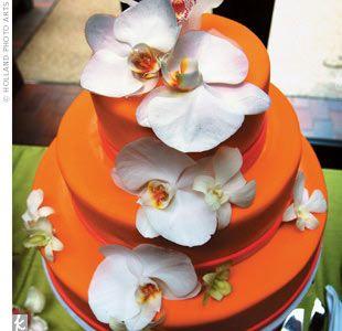 Orange cake could be fun!