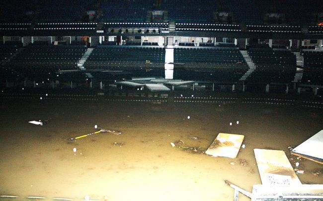 Calgary Flames get picture of damage at Saddledome | Flames | Sports | Calgary Sun