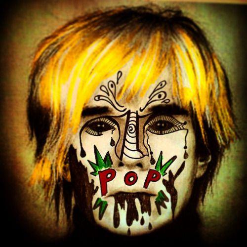 Andy #andywarhol #warhol #intervencion #ilustración #dibujo #doodle #art #arte  #popart #draw #drawing #ink #rotulador #tinta #pen #ny #saltillo #mex #mexico #paris #coahuila #df #chiapas