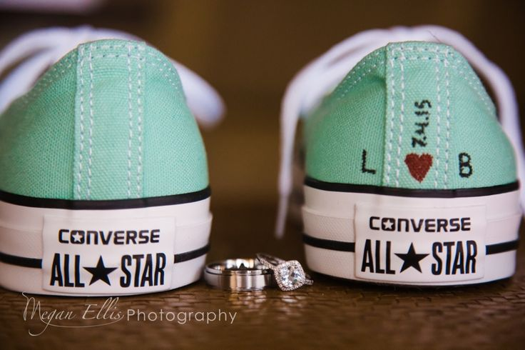 How about going a totally different route with your wedding shoes - and wear a pair of Converse!  Comfortable, colorful and unique!  Key West Destination Weddings, Florida Keys Destination Wedding, Destination Wedding Photographer,  Sailboat Wedding, Beach Wedding