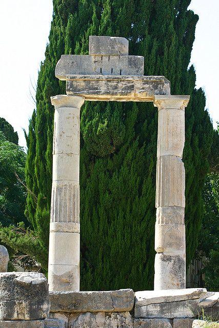 Ancient columns on Kos island