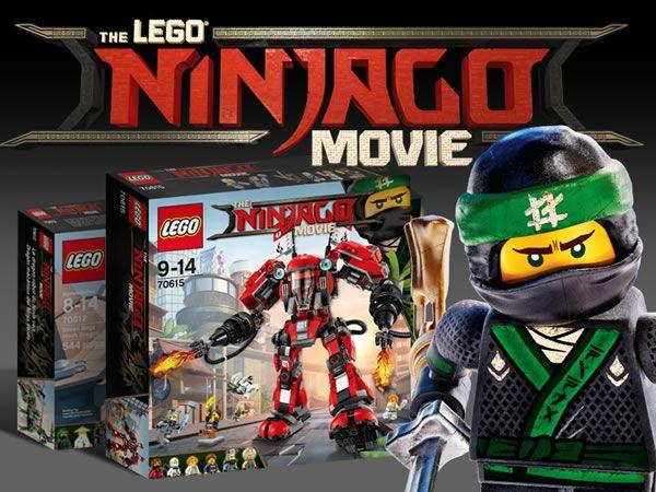 The LEGO Ninjago Movie : Quelques infos sur les sets prévus: Une version provisoire du catalogue LEGO du second semestre ayant fuité… #LEGO