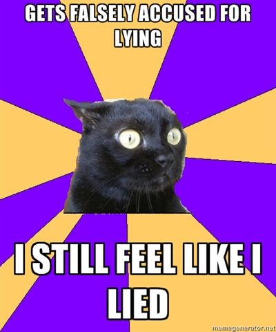 Anxiety Cat... every time I read something from anxiety cat, it reminds me of me.... T^T