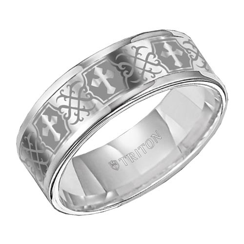 Tungsten Weding Rings 010 - Tungsten Weding Rings