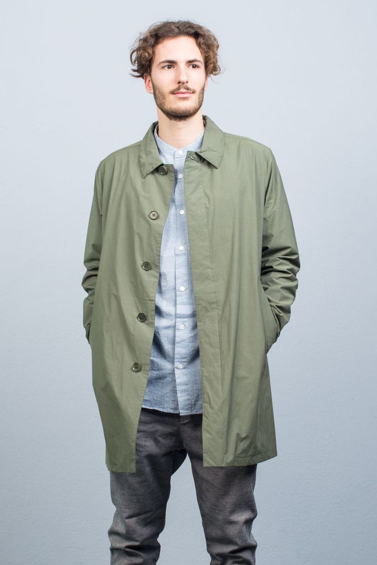 Norse Projects Thor Raincoat Olive