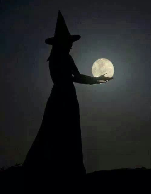 witchy full moon