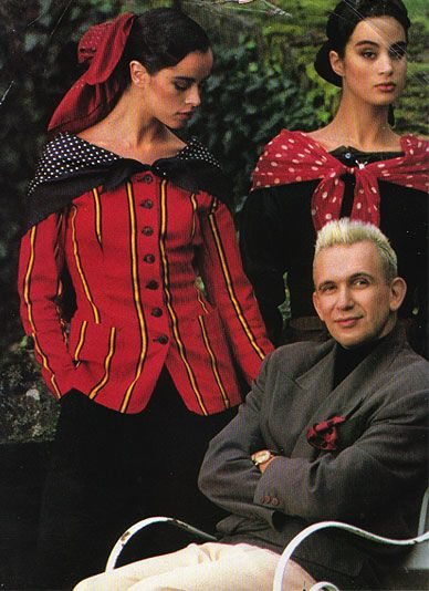 Jean Paul Gaultier 'Elle' Magazine in 1980s