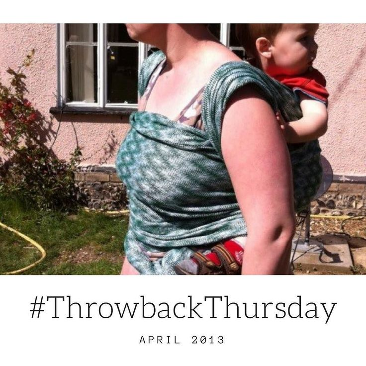 #throwbackthursday April 2013 trying on a #warpedandwonderful woven wrap. I loved this it was a perfect wrap. #wovenwraps #babywearing #doublehammock #closeenoughtokiss #carryingisnormal #timeflies #wearallthebabies #wearallthebabiesandtoddlers #wearallthewraps