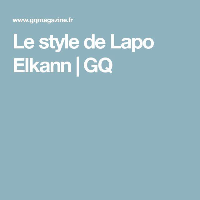 Le style de Lapo Elkann | GQ