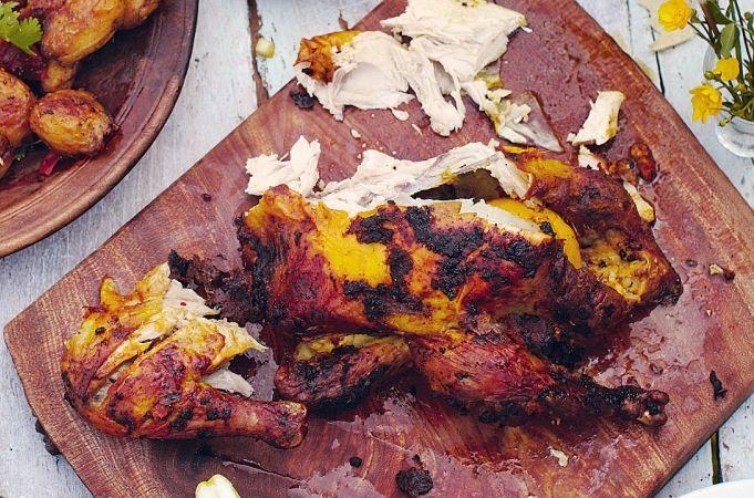Empire roast chicken Sunday roast meets Friday night curry - jamieoliver.com