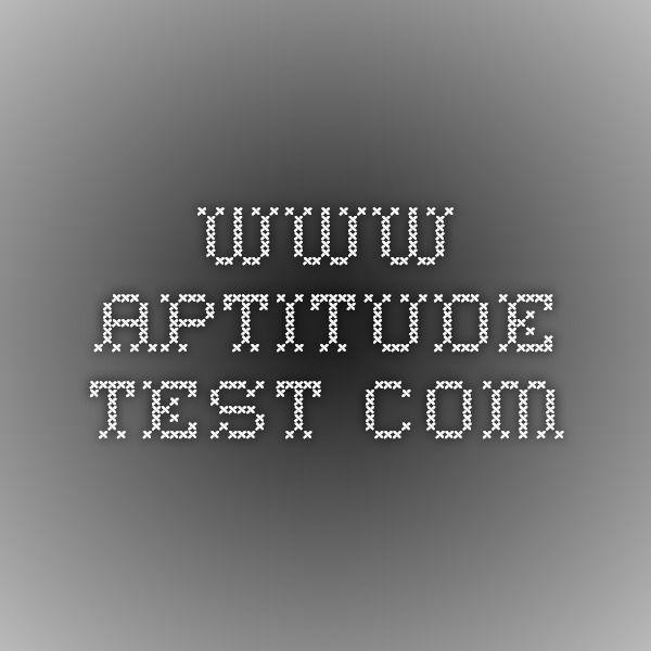 Best 25+ Free aptitude test ideas on Pinterest Career aptitude - free career aptitude test