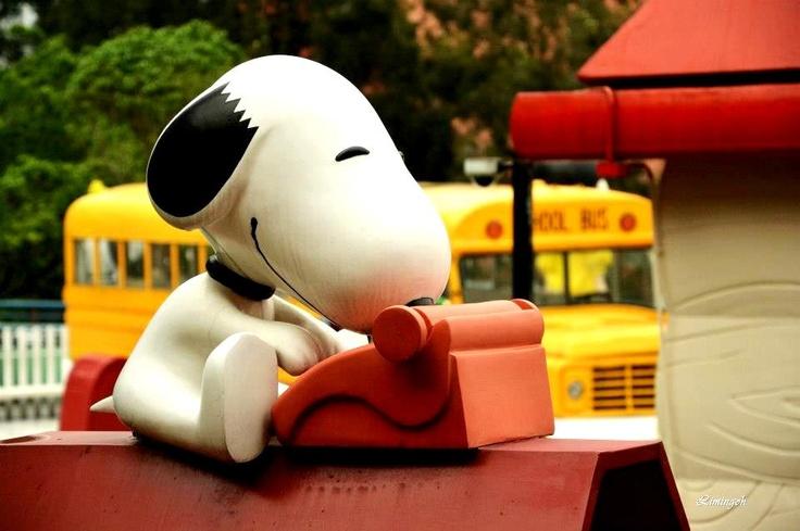 Hong Kong Snoopy Land   Photo taken by Li Min