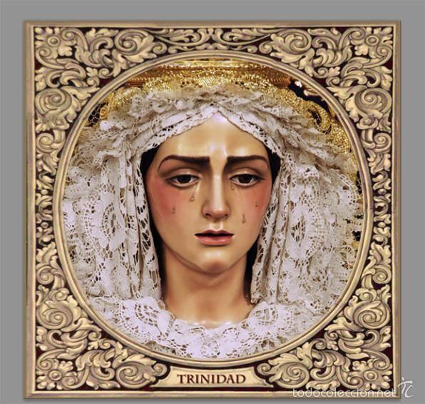 Azulejo 15x15 de Ntra. Madre y Señora María Santísima de la Trinidad de Cordoba