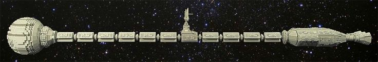 Incredible LEGO Discovery from 2001: A Space Odyssey