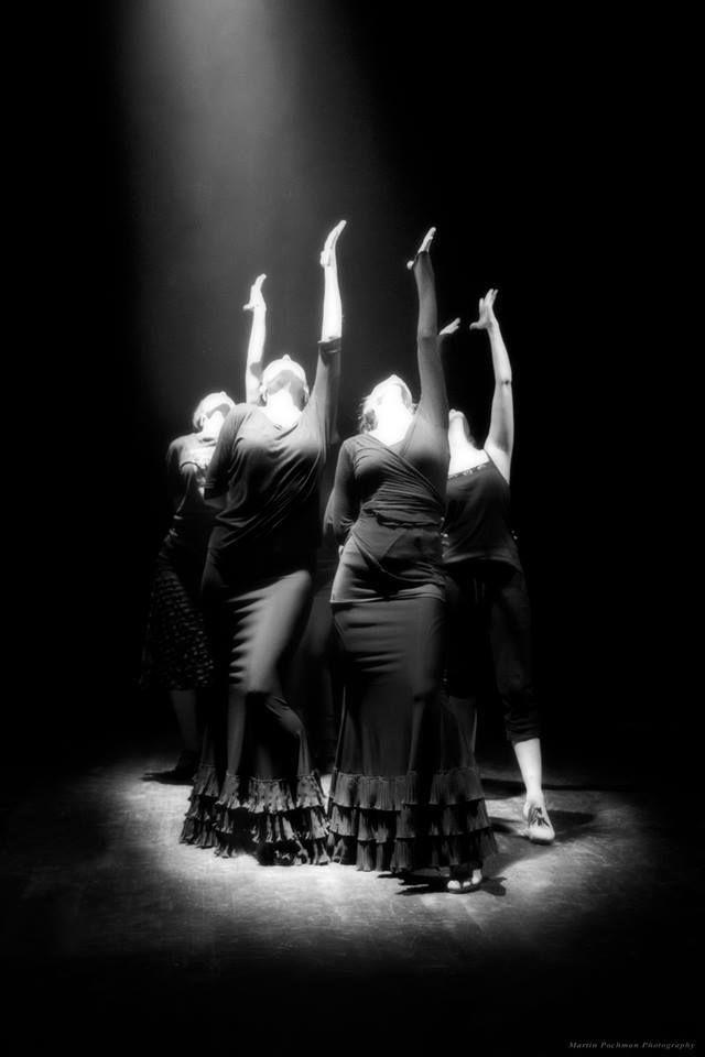 Flamenco dance performance - Prague 2014 (rehearsal)