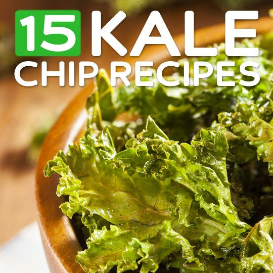 15 Tasty Kale Chip Recipes- that are so much better than the store-bought versions. You need to try these!