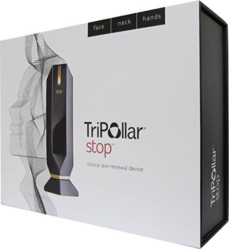 Tripollar Stop - Radio Frequency Facial Skin Tightening Machine, Non Invasive Face Toning, Wrinkles Remover