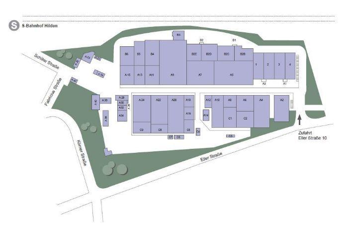 Bild 7 von 7: Plan Terrania Industriepark Hilden