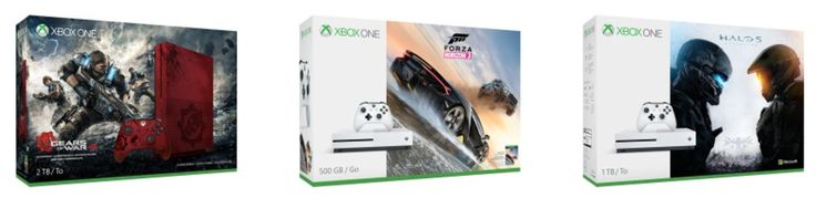 Microsoft Canada Xbox Deals: Save $50 Plus FREE Game with Xbox One S  Free Shipping  More! http://www.lavahotdeals.com/ca/cheap/microsoft-canada-xbox-deals-save-50-free-game/209960?utm_source=pinterest&utm_medium=rss&utm_campaign=at_lavahotdeals
