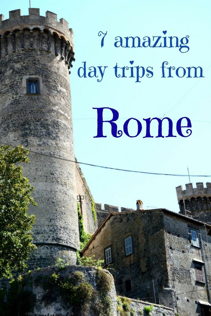 7 amazing day trips from Rome | Towns near Rome to reach by train | Places to visit near Rome, Italy