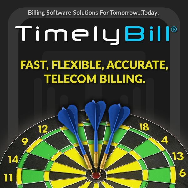 TimelyBill helps companies hit the mark with fast, flexible & accurate telecom billing.