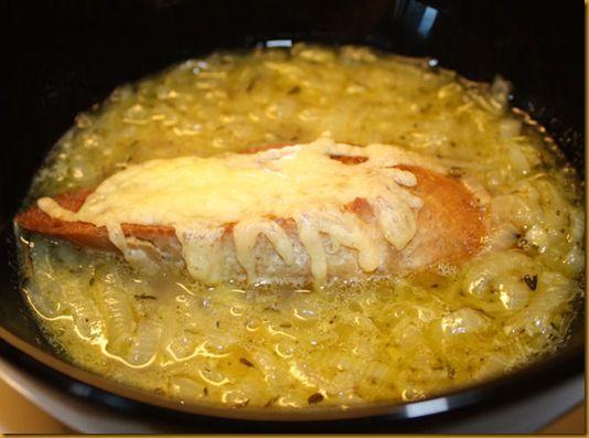 Smakfull løksuppe :)