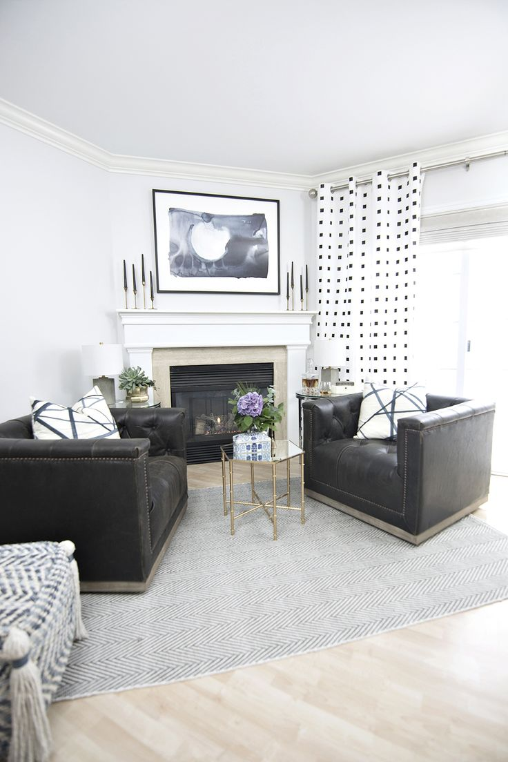 Fireplace Area Makeover Reveal - Cuckoo4Design
