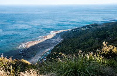 View down from Otford Lookout - Otford to Figure 8 Pools Circuit, Royal National Park