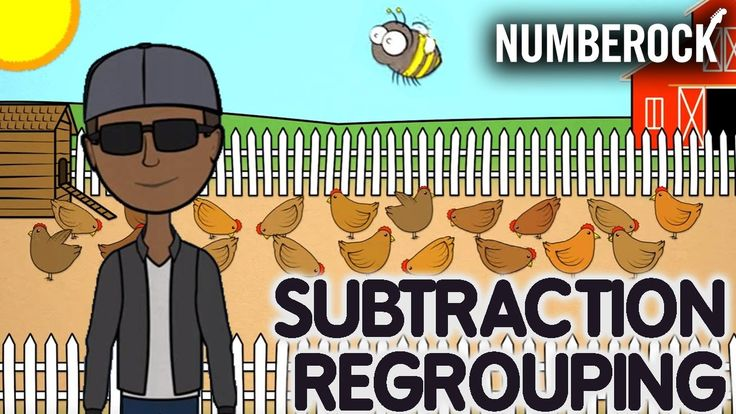 Subtraction With Regrouping Song | Rap Video by NUMBEROCK