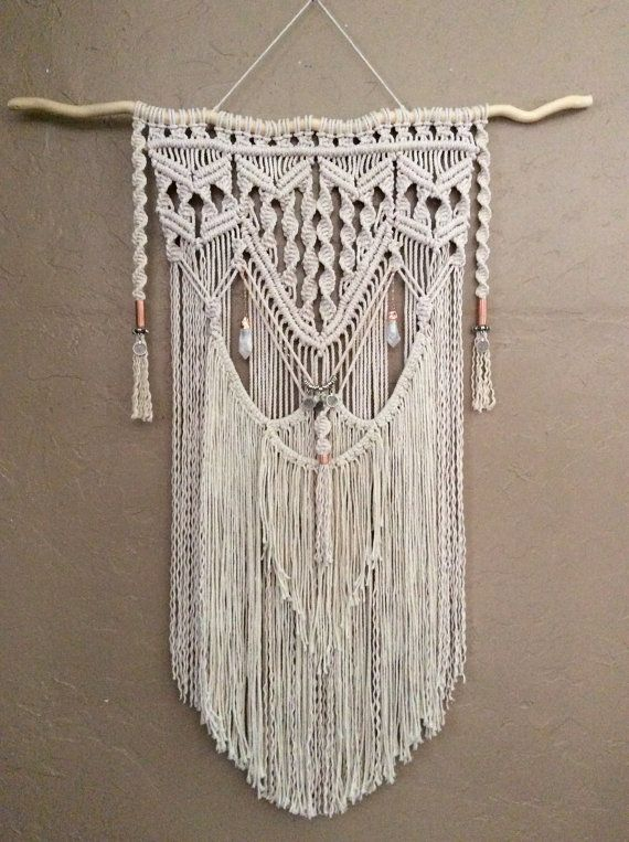 large macrame wall hanging bedroom nursery decor boho 25 best ideas about hanging tapestry on