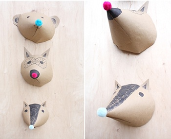 Foxes Have Holes Crafts For Kids