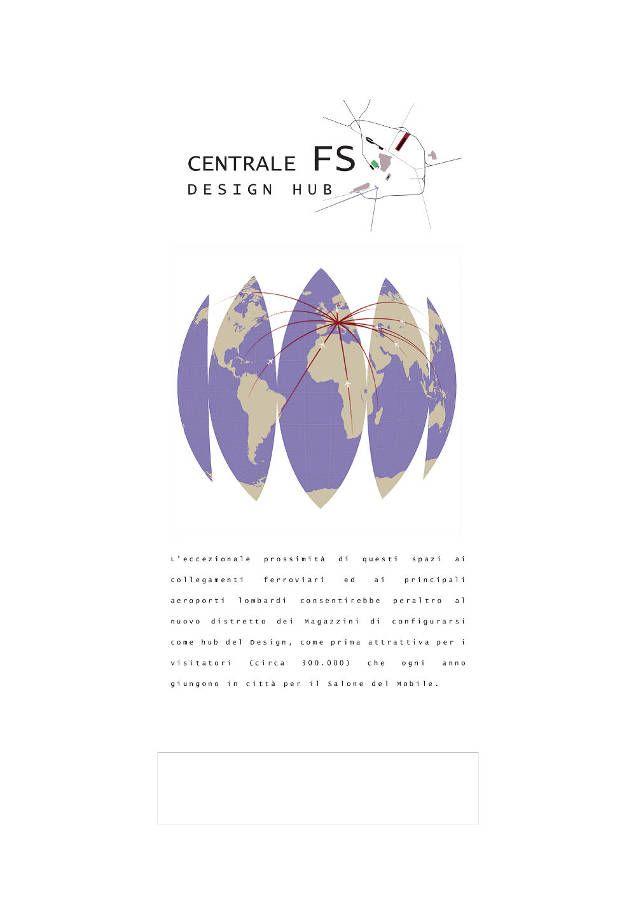 IL DESIGN E L'ARCHITETTURA DEI MAGAZZINI RACCORDATI DELLA STAZIONE CENTRALE - 8–13 Aprile 2014