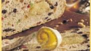 Zelfgebakken paasbrood met noten en spijs: heerlijk! #paasontbijt #pasen