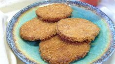 Deep–Fried Ham Cutlets