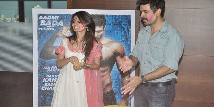 Ayesha Khanna and Harman Baweja promote Dishkiyaoon