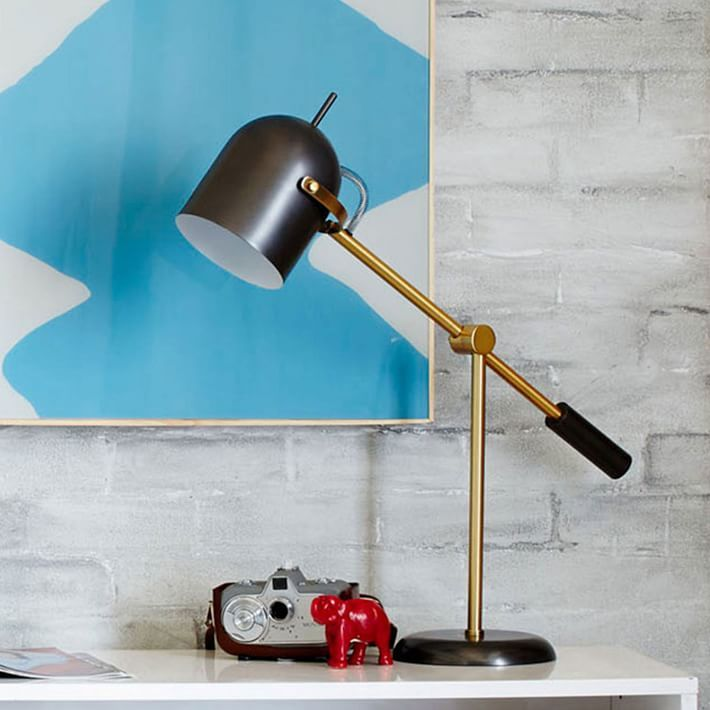 Attrayant Nice Piece To Tie In Mixed Metals, Or To Introduce A New Metal Finish Into  A Room Table Lamps, Contemporary Table Lamps U0026 Modern Table Lamps