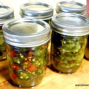 how to make red and green jalepino jam