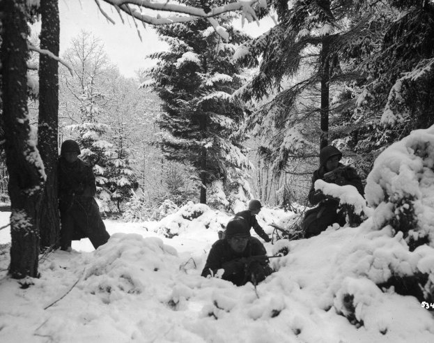 WORLD WAR II: RARE IMAGES OF THE BATTLE OF THE BULGE