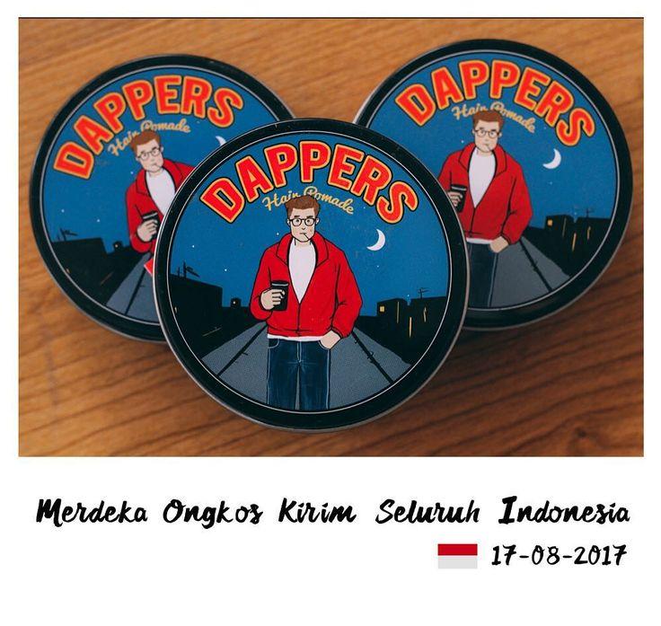 Merayakan hari kemerdekan Republik Indonesia. Dappers memerdekakan ongkos kirim ke seluruh indonesia untuk order yang masuk tgl 17-08-2017. Selamat berbelanja MERDEKA !!!