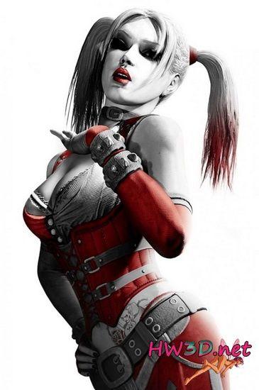 Порно в костюме харли квинн фото