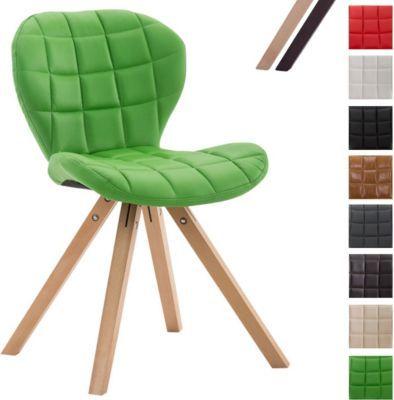 Schön Design Retro Stuhl ALYSSA, Bein Form Square, Kunstleder Sitz Gepolstert,  Lounge Sessel, Buchenholz Gestell, Jetzt Bestellen Unter: ...