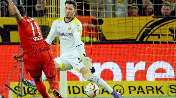 Dortmund - Bayern 0:0   Bürki bremst Bayern - Bundesliga Saison 2015/16 - lol,only draw 0:0 @FCBayern vs @BVB thx to #scorpio Roman #Buerki ;D http://www.bild.de/bundesliga/1-liga/saison-2015-2016/spielbericht-borussia-dortmund-gegen-fc-bayern-muenchen-am-25-Spieltag-41817640.bild.html https://twitter.com/FCBayernEN/status/706191154514108416