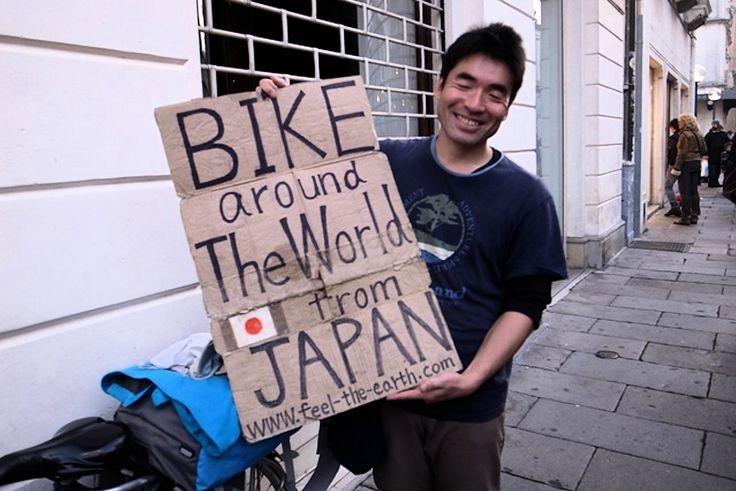 Si vous ne le connaissez pas encore, je vous propose ce samedi de découvrir un japonais pas comme les autres qui en 2002 a décidé de tout lâcher et de démissionner de son emploi dans une société de climatisation afin de parcourir le monde à vélo. Depuis qu'il a quitté son pays il y a quinze ans maintenant, Keiichi Iwasaki en a traversé de nombreux autres comme la Corée du Sud, le Vietnam, la Malaisie, la Chine, le Népal, l'Inde, l'Iran ou encore la Turquie et actuellement il se trouve en…