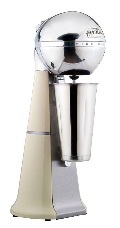 A-2001 Retro Cream Drink Mixer with inox cup. #cream